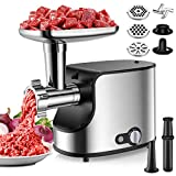 Best Sausage Stuffers - Stainless Steel Meat Grinder Electric 3-in-1 Sausage Stuffer Review