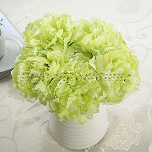 Generic pour Mariage Demoiselle d'honneur Bouquet Bouquets de Fleurs Pivoine Fleurs 5 Fleur Tête