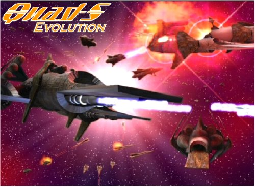 Quad-S: Evolution - The Spaceship Combat Game (English Edition)