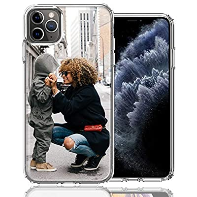 MUNDAZE Design Your Own iPhone Case, Dual Layered Personalized Photo Phone case for iPhone 11 Pro Max Custom Case