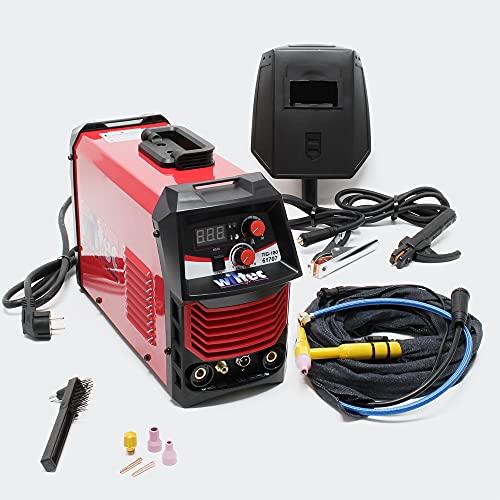 Saldatrice alta frequenza saldatura a elettrodo TIG 180 ampere con accessori
