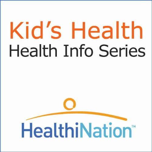 Kid's Health audiobook cover art