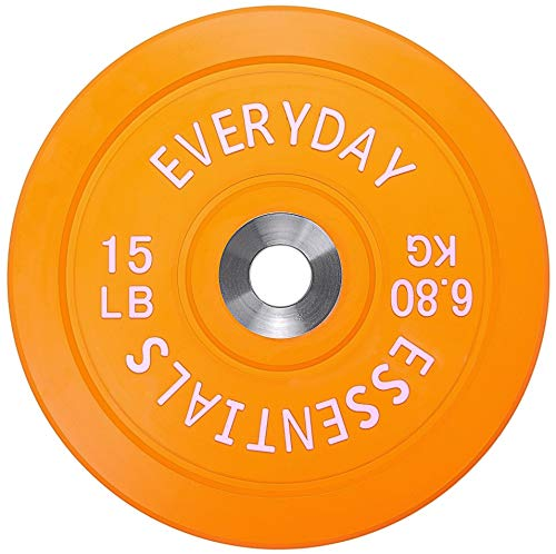 Everyday Essentials Olympic Bumper Plate