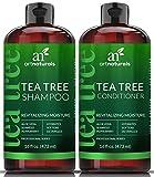 ArtNaturals Teebaumöl Shampoo Conditioner Set - (2 x 16 Fl Oz / 472 ml) - mit Aloe Vera & Pflanzlichen Extrakten - Gegen Schuppen, Juckreiz, Trockene Kopfhaut und Fettiges Haar - Fördert...