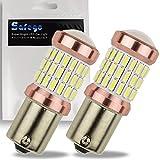 Safego, 2 lampadine super luminose a LED per segnale parcheggio auto e luci laterali,1156P21W 604014, 12V, BA15S, 1141,6000K