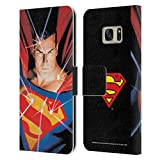Head Case Designs Officially Licensed Superman DC Comics Alex Ross Mythology Famous Comic Book Covers Leather Book Wallet Case Cover Compatible with Samsung Galaxy S7