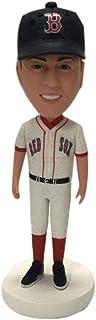 Red Sox Bobble Head personalizzato Red Sox Figurine di argilla basate sulla foto dei clienti Natale Gift Marito Fidanzato ...