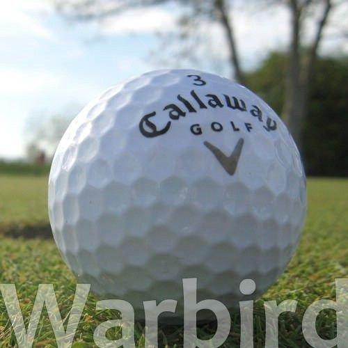 Callaway 50 WARBIRD LAKEBALLS/GOLFBÄLLE - QUALITÄT AAAA/AAA