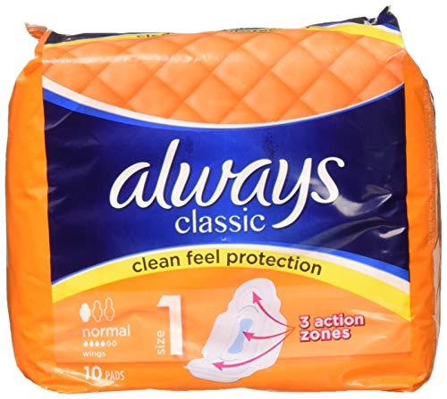 Always ALCN10 - Toallas sanitarias clásicas (10 unidades)