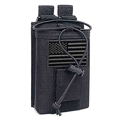 Tactical Radio Holder Molle Radio Pouch Case Heavy...