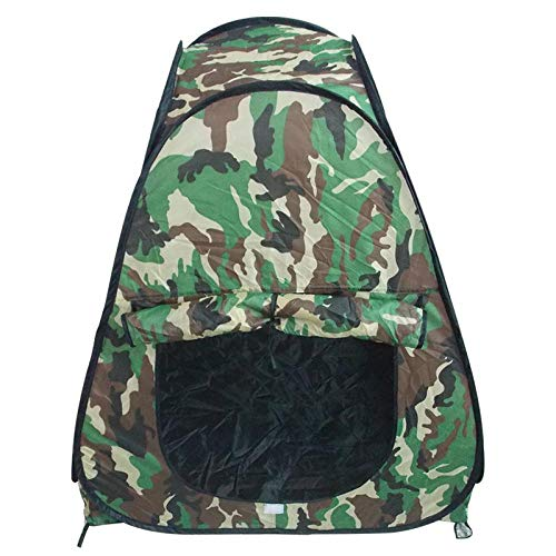 XIANGRUI Play Tent Kids Teepee Portable Foldable Play Tent With Camouflage Design Foldable Playhouse Tent Toy With Camouflage Design - Great Indoor Outdoor Gift For Kids