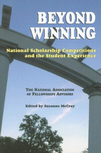 Beyond Winning National Scholarship Competitions And The Student Experience