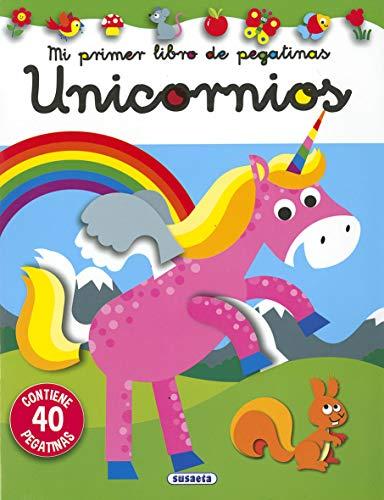 Unicornios (Mi primer libro de pegatinas)