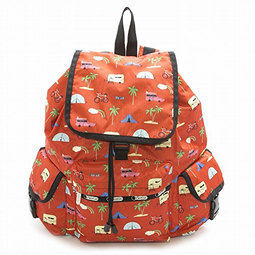 LeSportsac レスポートサック リュックサック 7839 Voyager Backpack d835 Roadtrip Vaca [並行輸入商品]