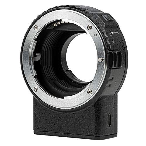 VILTROX NF-M1 Adaptador Lente Enfoque Automático para Lente Montura Nikon F a...