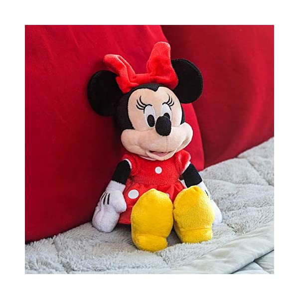 "Disney Minnie Mouse Red 11"" Beans Plush w hangtag 6"