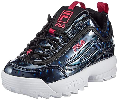 FILA Disruptor F kids Sneaker Unisex - Bambini, Viola (Sparkling Grape), 35 EU