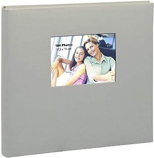 Erica - Album square à pochettes pour 500 photos 11.5x15 - Ecru