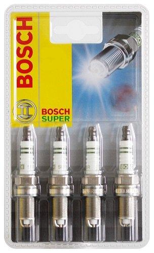 Preisvergleich Produktbild Bosch 0242229989 Zündkerze Super Special FR8KTC - KSN N18 - 4er Set