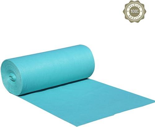Zheng Hui Shop Tapis Chambre Pleine Maison Tapis jetable Couleur Unie Tapis Tapis de Mariage (Couleur   Lake bleu, Taille   1.5  10m)