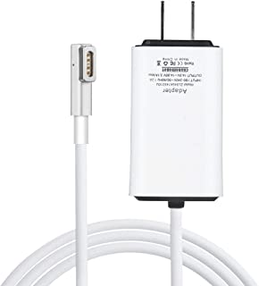 Charger for Macbook Air, Replacement 45W Magnetic 1 L-Tip Power Adapter Charger,Compatible with MacBook Air 11 inch&13 inch (Before Mid 2011),Portable&Lightweight Mini Travel Mac Air Laptop Charger