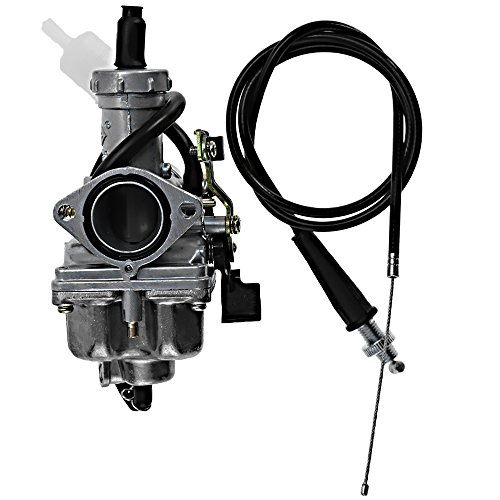 Carburetor Fits for HONDA TRX250EX SPORTRAX 250 2001-2005 w/Throttle Cable Fuel Filter