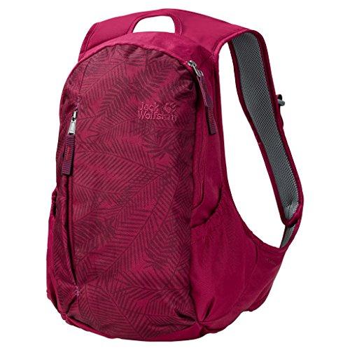 Jack Wolfskin Damen Ancona Daypack Rucksack, Leaf red, 44x30x3 cm