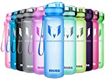 MAIGG Botella de Agua Deportiva - para Correr, Gimnasio, Yoga, Aire Libre y Camping-500ml Light Blue