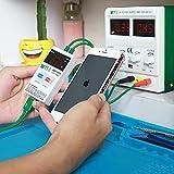 ILS – BEST-053 Línea de arranque del cargador para iPhone X 8 8P 7 7P 6S 6 6P 6S Plus Herramienta de reparación de pruebas celulares Protección Corriente Rápida Herramientas Set