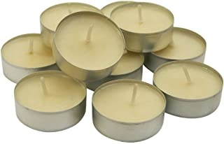 CandleNSCent Scented Tealight Candles, French Vanilla, Pack of 30