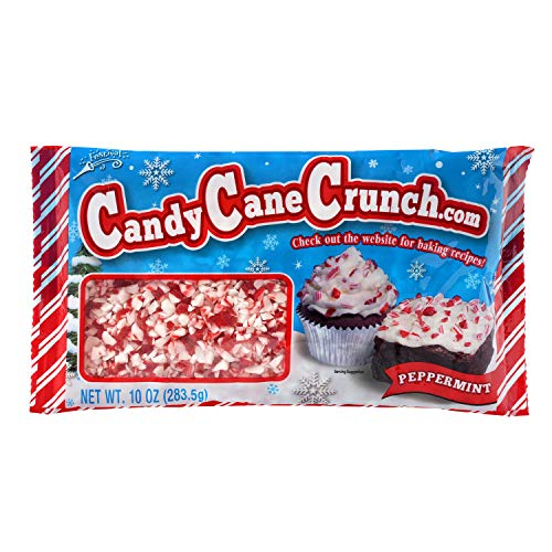 Festival Candy Cane Crunch - Peppermint Great for Baking and Snacking! 1 bag