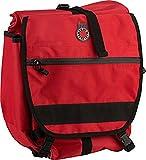 Banjo Brothers 01130R Waterproof Pannier Backpack, Red