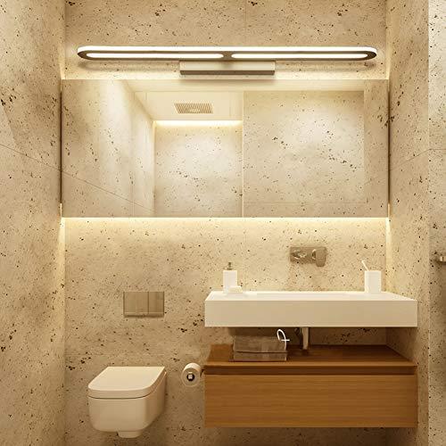 DengGuang-nh Led spiegelleuchte einfache Moderne Wohnzimmer Schlafzimmer Wandleuchte badezimmerspiegel Scheinwerfer Spiegel Schrank licht,Wram,80x4x9cm