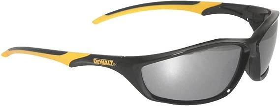 Dewalt Silver Mirror Safety Glasses, Scratch-Resistant, Wraparound