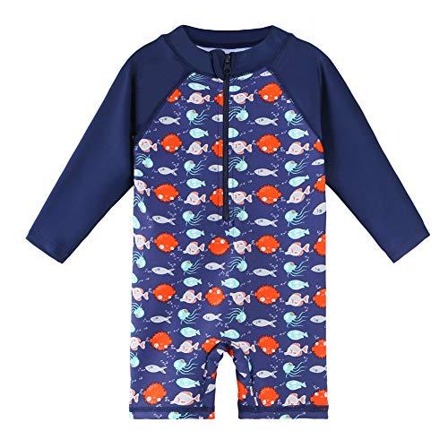 HUAANIUE Een Stuk Badpakken zwemkleding voor kinderen badkleding badmode UPF 50+ UV-bescherming 0-6 jaar oud