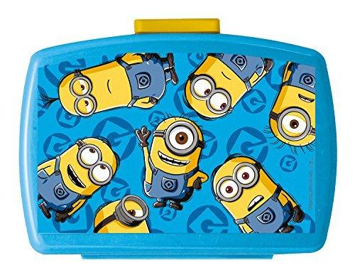 p:os 24157 Minions lunchbox Premium met inzetstuk, 16 x 12 x 6,5 cm