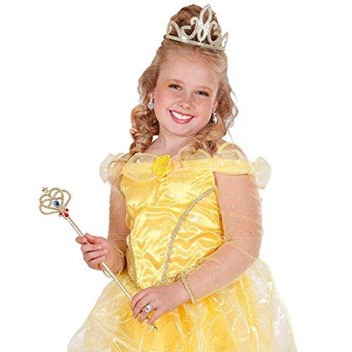 NET TOYS Sceptre de Roi de Carnaval Princesse bâton Sceptre de Roi régent régents déguisement Accessoire Mardi Gras Carnaval