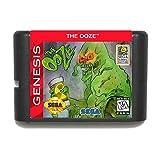 Nups The Ooze NTSC-USA 16 bit MD Game Card For Sega Mega Drive For Genesis