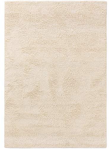 benuta NATURALS Wollteppich Berber Cream 160x230 cm, 4053894833793