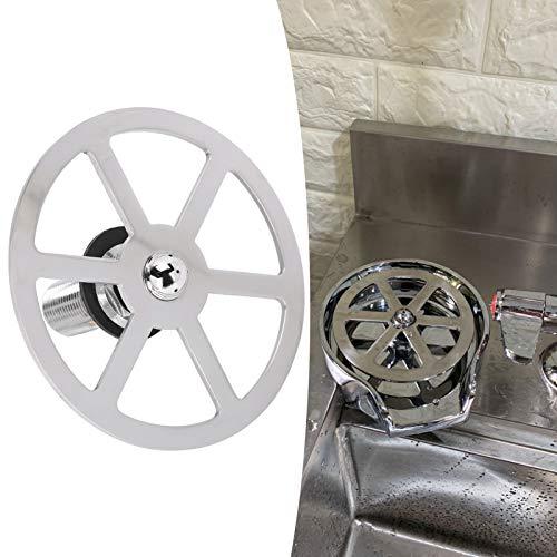 Enjuagadora de vidrio, práctica barra Enjuagadora de vidrio Accesorios para fregadero de cocina Lavadora automática de tazas Enjuagadora de limpieza de vidrio, Enjuagadora automática de
