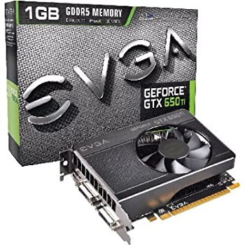 EVGA GeForce GTX 650 Ti 1024MB GDDR5 128bit, Dual Dual-Link DVI, Mini HDMI, Graphics Card (01G-P4-3650-KR) Graphics Cards 01G-P4-3650-KR