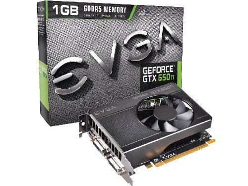EVGA GeForce GTX 650 Ti NVIDIA-Grafikkarte (1 GB)