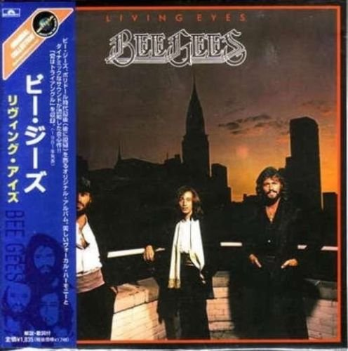 Bee Gees - Living Eyes (CD MINI LP with OBI)
