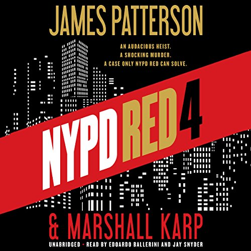 NYPD Red 4 audiobook cover art