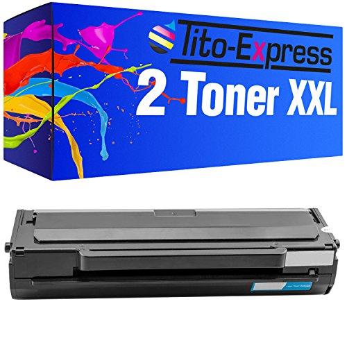Tito-Express PlatinumSerie 2 Toner XXL Schwarz kompatibel mit Samsung MLT-D1042S ML-1660 2.500 Seiten Laser