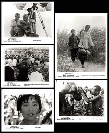 Red Sorghum - Luxury Authentic trend rank Original Stills Of Set Movie 10x8