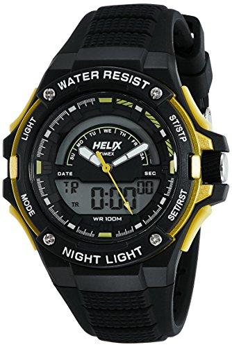Helix - Reloj analógico Digital Unisex con Esfera Negra - TWESK0305