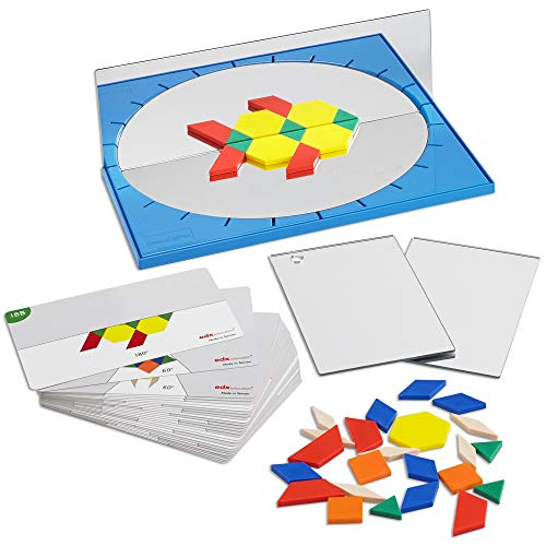 edx Education GeoLand Math Set - Explore Science, Math and Art - Geometry, Reflections, Symmetry, Angles and Creative Design