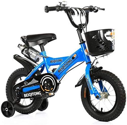 Niños andan en bicicleta 12/14/16/18 pulgadas Niños andan en bicicleta Niños y niñas andan en bicicleta 2 a 11 años Niños andan en bicicleta Dé regalos a los niños B 12 pulgadas D 18 pulgadas-12 pulga