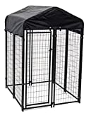 Lucky Dog Uptown Welded Wire Kennel (6'Hx4'Wx4'L)